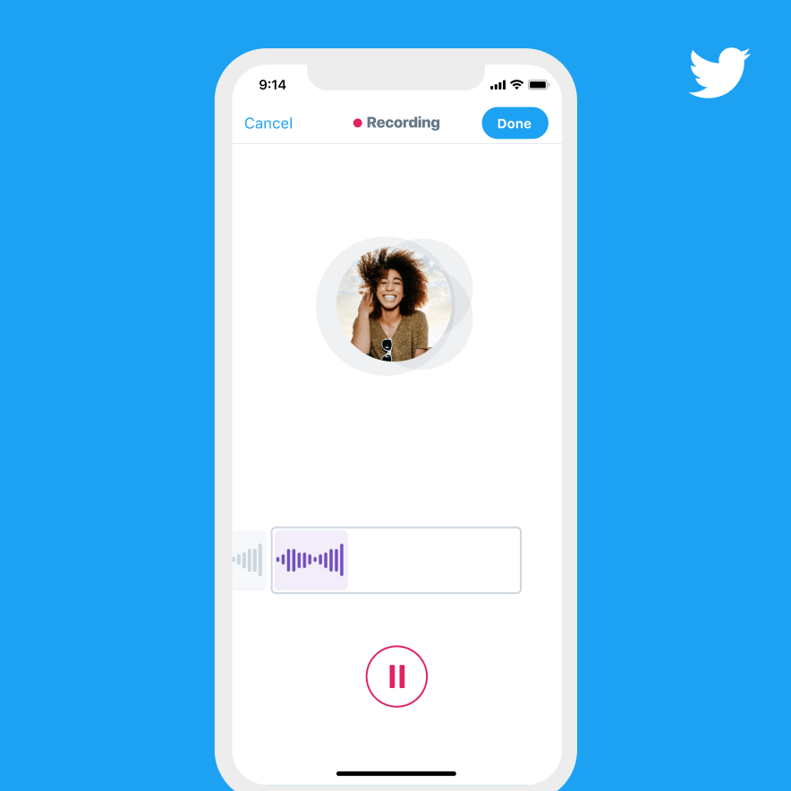 Enregistrer un tweet vocal