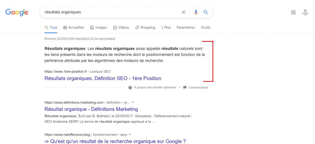 Comment apparaître en 1ère page de Google de façon sûre ? Via le Featured Snippet