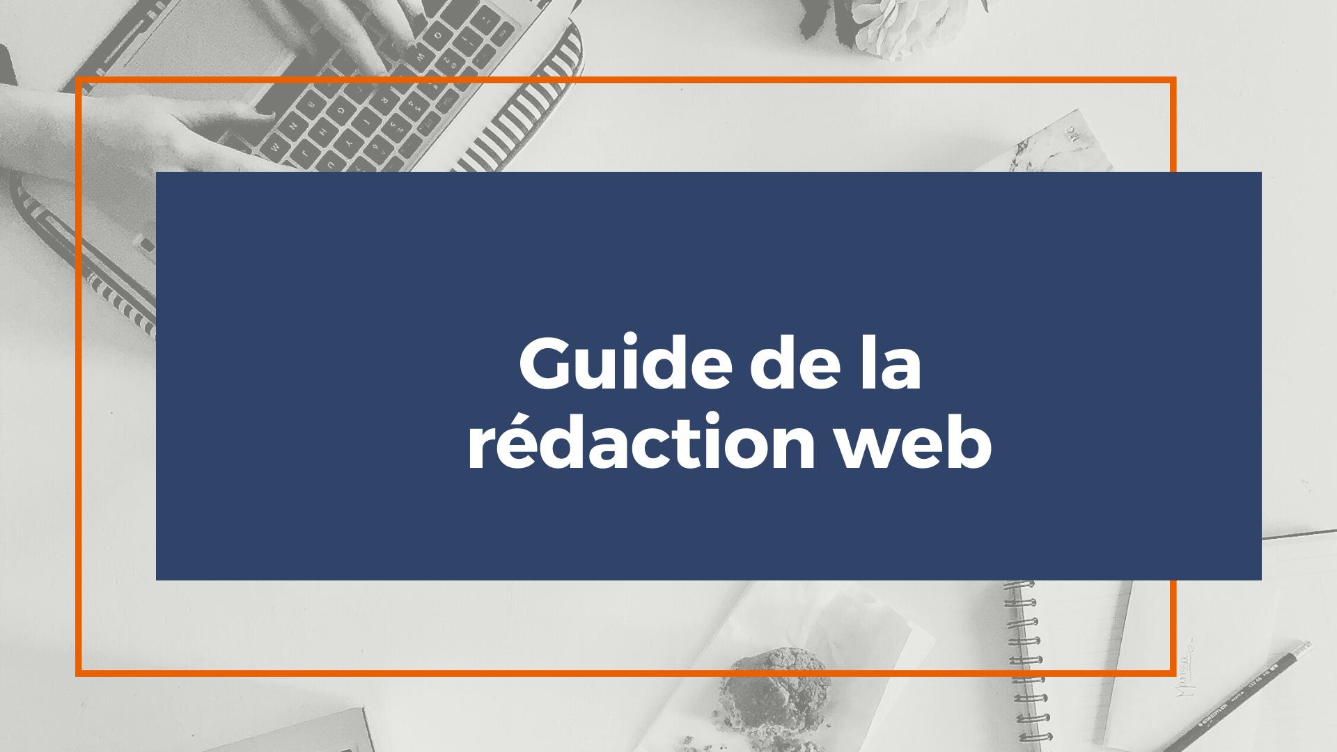 guide de la rédaction web